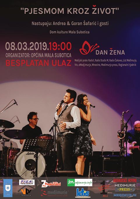 Obitelj Šafarić i Pjesmom kroz život za Dan žena u Maloj Subotici