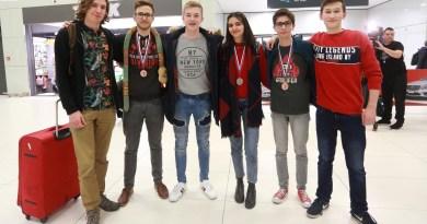 Srednjoškolci iz Rusije došli s medaljama