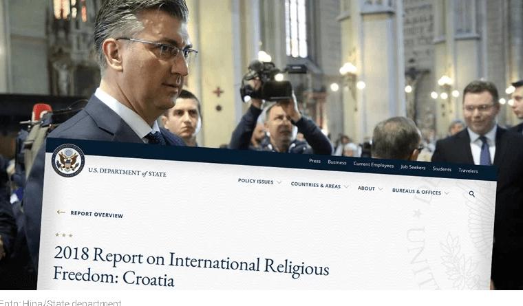State Department: u Hrvatskoj raste netolerancija