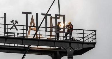 Natpis Tito vraćen na labinski Šoht
