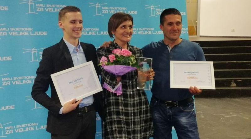 Denis Perhoč, Mira Logarušić, Nediljko Karoglan