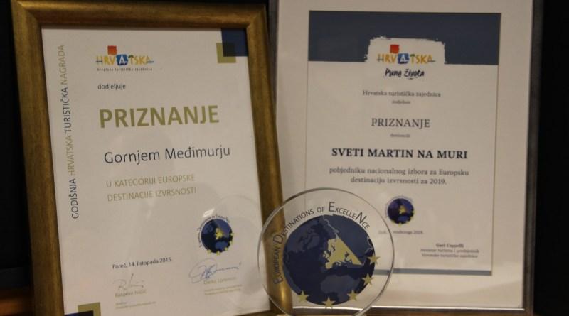 Međimurju, jedinom u Europi, treći put nagrada EDEN