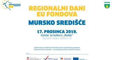 Regionalni dani EU fondova u Murskom Središću - informirajte se o bespovratnim EU sredstvima