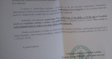Ministrica Bedeković uvodi red u gradsku socijalu Zagreba, ali i cijele Hrvatske