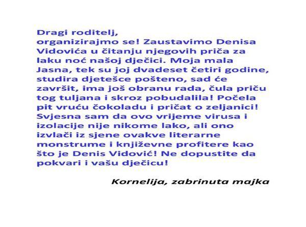Gost urednik: Denis Vidović i Koronoskopija