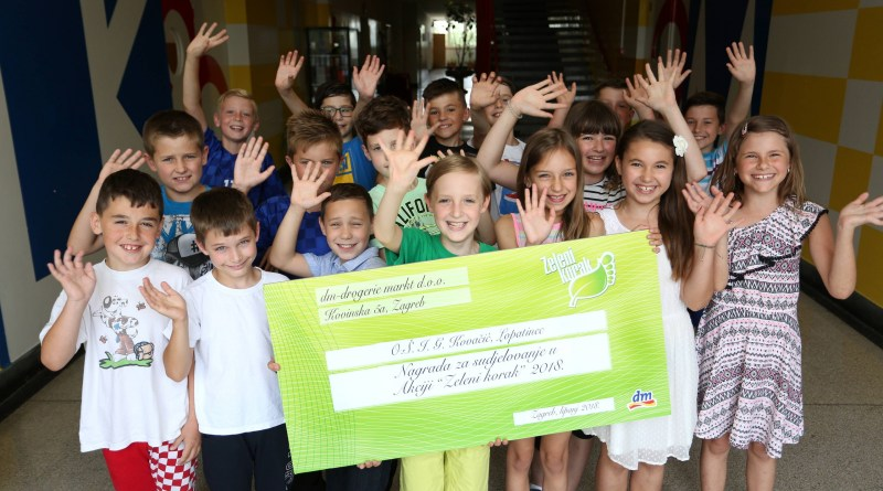 Tri škole iz Međimurske županije prijavile su se za sada na eko akciju dm Zeleni korak