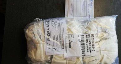 Donacija zaštitnih maski Društvu multiple skleroze Međimurske županije