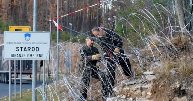 Slovenski župani žele vojsku na granici s Hrvatskom