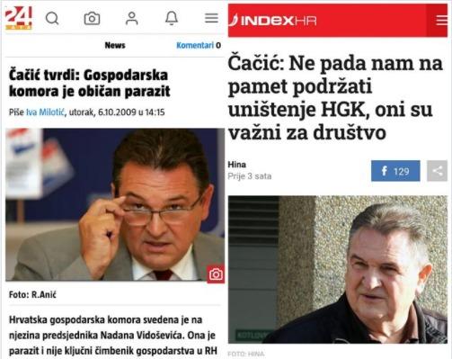Radimir Čačić - nekad i sad