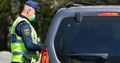 Slovenija od 1. travnja u lockdownu uz strog režim na granicama