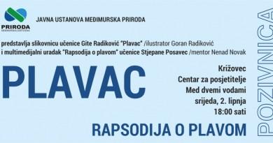 Plavac i Rapsodija o plavom - ususret 5. lipnju, Svjetskom danu zaštite okoliša