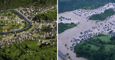 Gradić u Njemačkoj nestao pod vodom