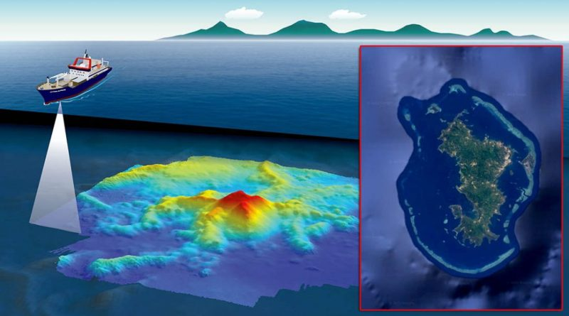 Najveća zabilježena podmorska erupcija stvorila je novi masivan vulkan