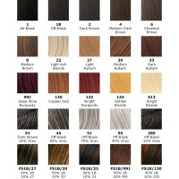 Xpressions Braiding Hair Color Chart | hairstylegalleries.com