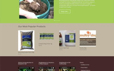 New Products & Website for ZingBokashi
