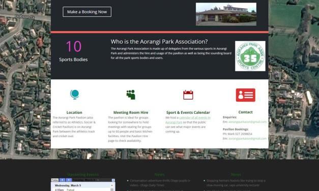 Aorangi Park Association