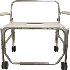 Shower Chair With Wheels And Removable Arms Sofa Covers Target Convaquip Bariatric Drop Arm Medline Industries Inc Click To Enlarge View Full Image Here