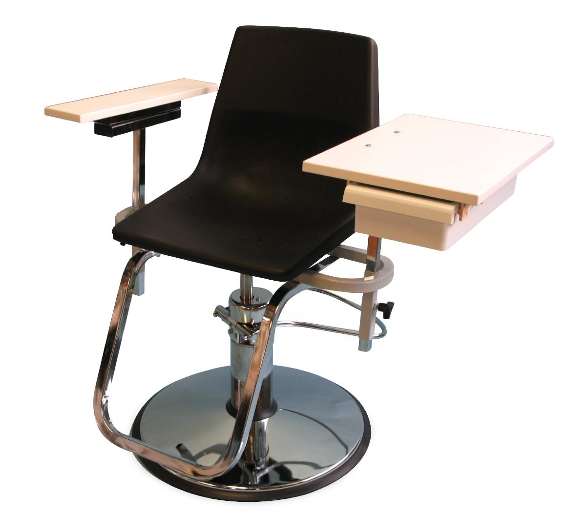 blood draw chair where to buy covers in montreal drawing chairs products medline industries inc hydraulic lift by brandt