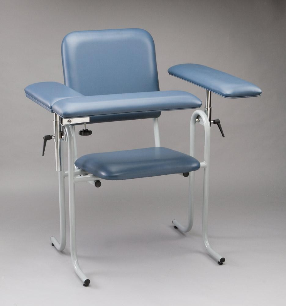 blood draw chair allsteel acuity drawing chairs products medline industries inc upholstered by tech med