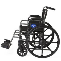 Wheelchair Ebay Steel Folding Chairs With Arms Medline K1 Basic 18 Quot Width Mds806250ee