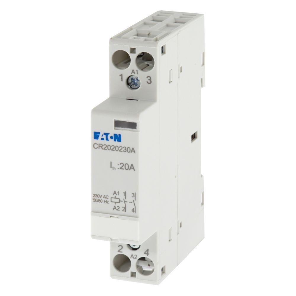medium resolution of image of eaton mem cr2020230a modular contactor 20a 2 pole normally open 240v