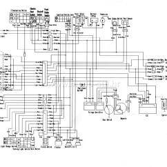 Pit Bike Wiring Diagram Motor Chinese 125cc Free