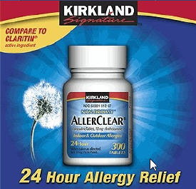 ... Allergy Medicine > AllerClear Non-Drowsy Allergy Relief- 300 Tablets