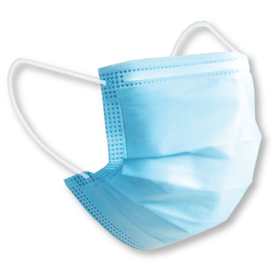 Disposable Face Mask - 3 Ply Ear Loop Face Protection