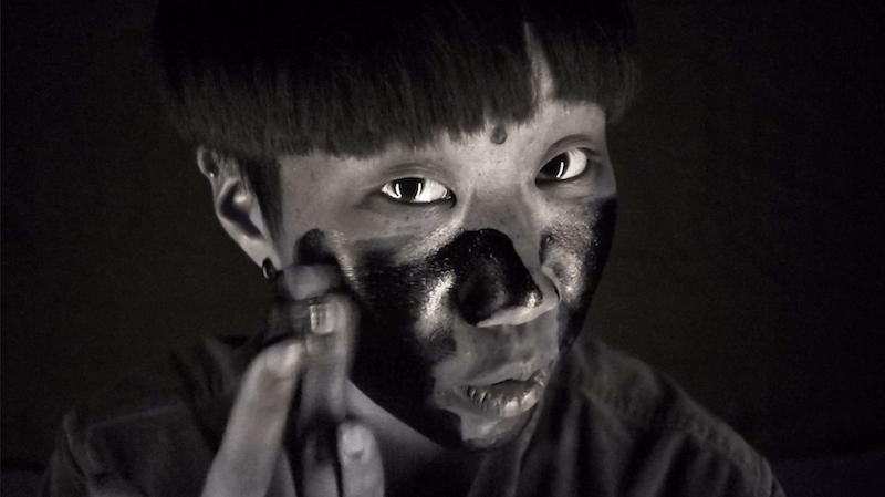 防曬等待時間實測-紫外線鏡頭