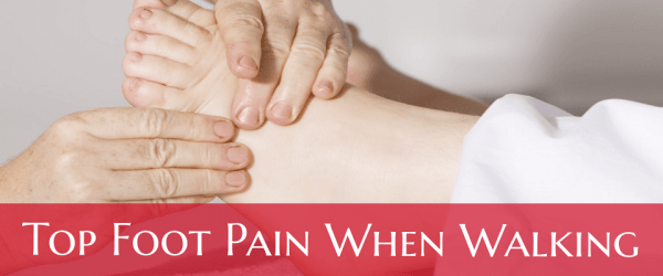 Pain Top Of Foot When Walking