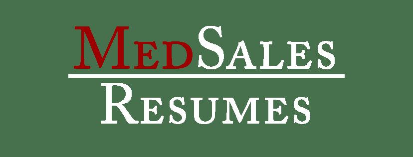 Med Sales Resumes