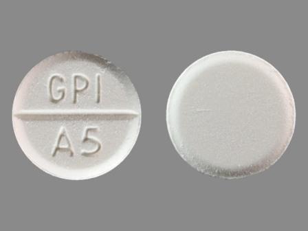 Gpi A5 White Round - MedsChat
