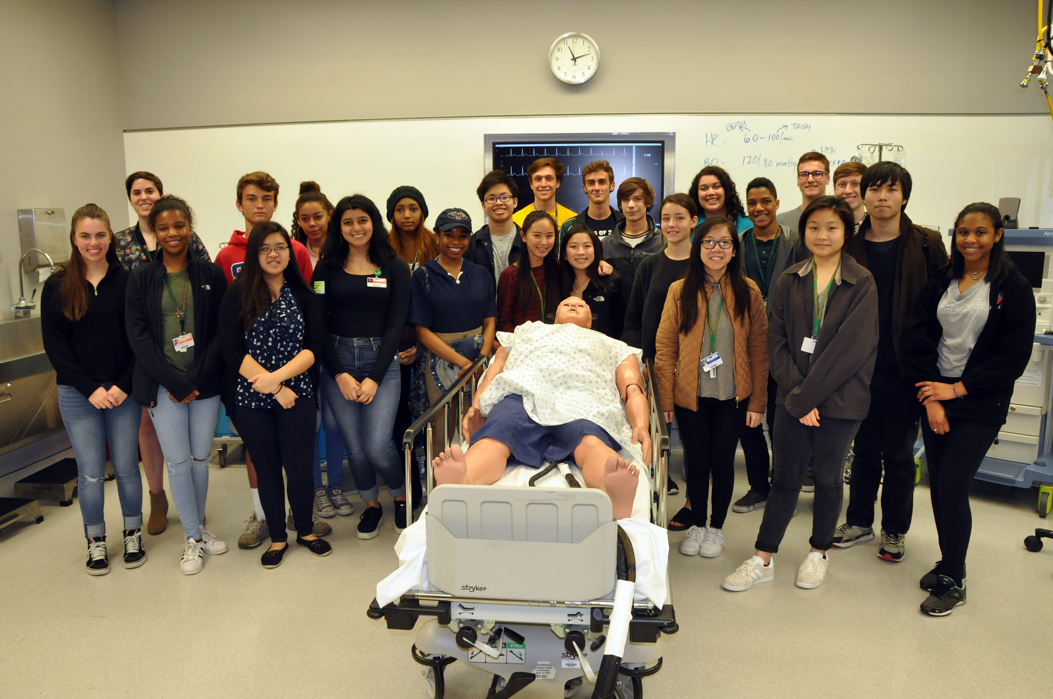 Ben Franklin High School Brings 98 Students To Tour