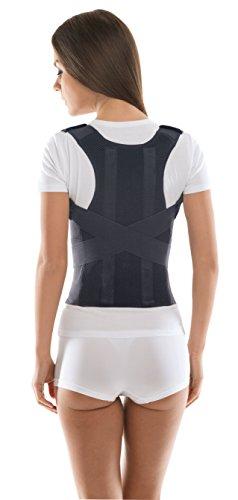 c321588d4 Comfort Posture Corrector and Back Support Brace   100%-Cotton Liner ...