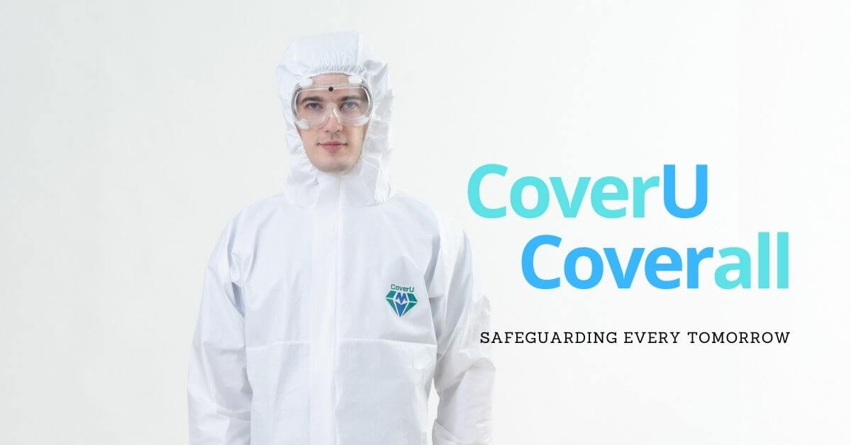 CoverU Coverall without Tape-Medtecs brand