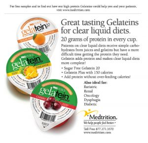 why are patients on a clear liquid diet