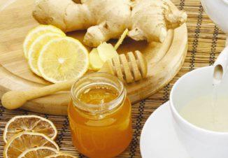 имбирь и мёд