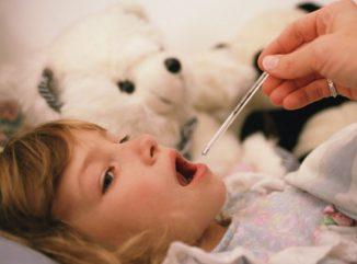 инфекционное заболевание у ребёнка