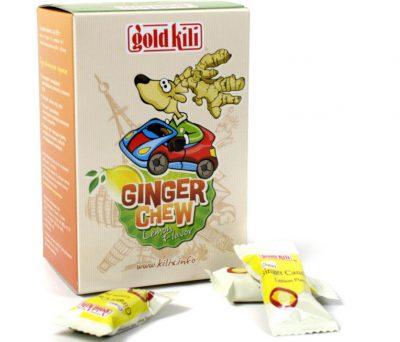 жевательные конфетки с имбирём