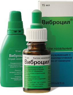 Препарат Виброцил
