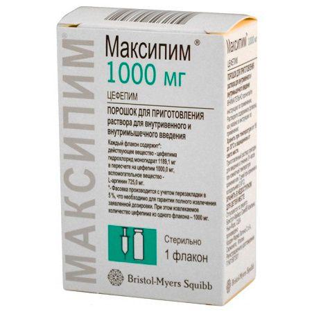 Препарат максипим для лечения обструктивного бронхита