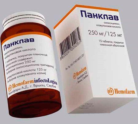 Препарат панклав для лечения обструктивного бронхита