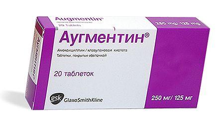 аугментин антибиотик при бронхите
