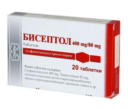 лечение бронхита с бисептол