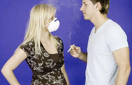 пассивное курение причина бронхита