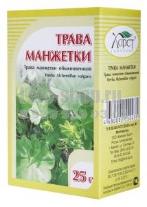 Манжетка обыкновенная - целебное растение
