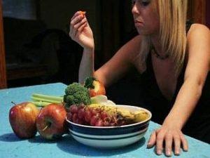 пристрастие в еде