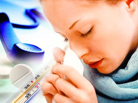 Повышенная температура тела при бронхите