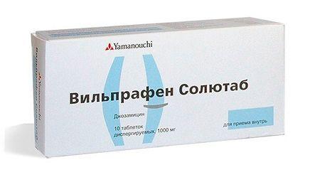 Антибиотик вильпрафен для лечения острого бронхита