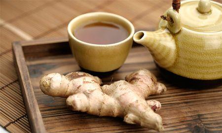 Чай с имбирем для лечения вирусного бронхита